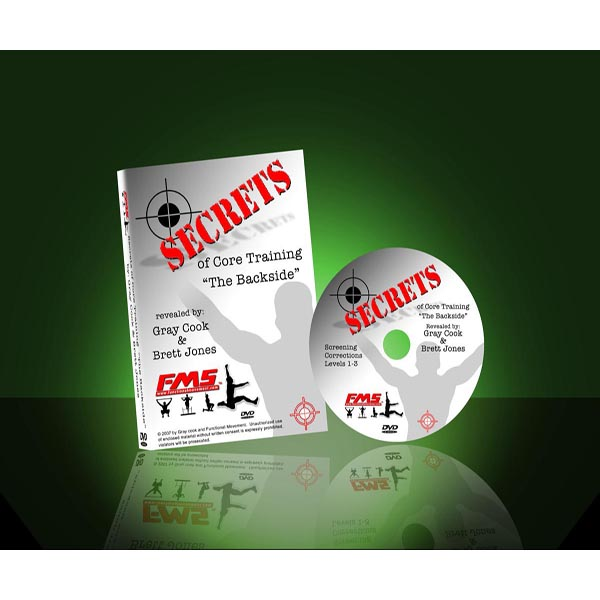 Secrets of Core Training DVD: The Backside